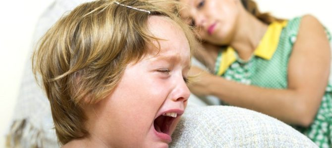 Скандал по всем правилам или как справиться с детской истерикой